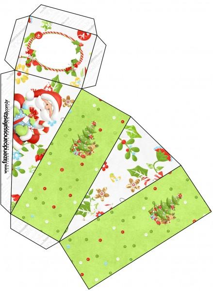 Caixa Fatia Natal