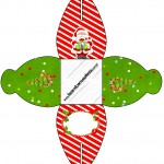 Caixa Natal Vermelho e Verde 1