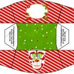 Caixa Natal Vermelho e Verde