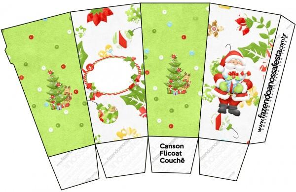 Caixa Pipoca Natal