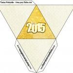 Caixa Pirâmide Ano Novo 2015