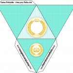 Caixa Pirâmide Coroa de Príncipe Verde