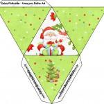 Caixa Pirâmide Natal