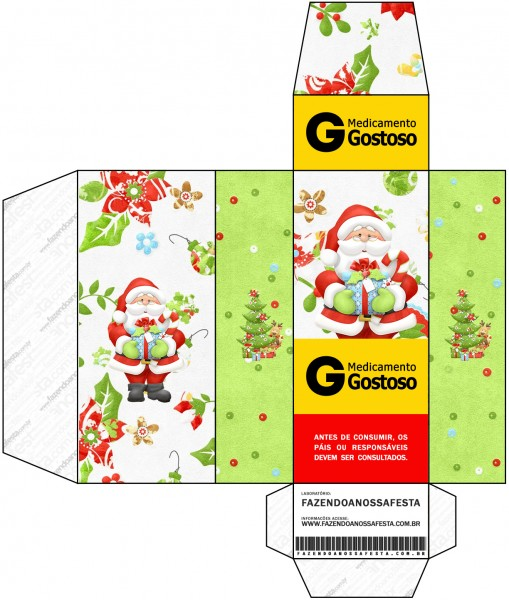 Caixa Remédio Natal