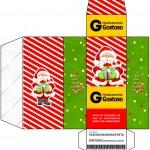 Caixa Remédio Natal Vermelho e Verde