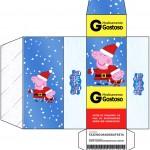 Caixa Remédio Peppa Pig Natal