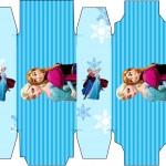 Caixa Sabonete Frozen Azul