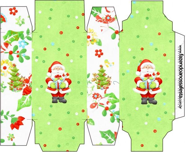 Caixa Sabonete Natal