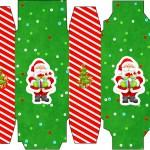 Caixa Sabonete Natal Vermelho e Verde