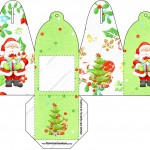 Caixa com Foto Natal