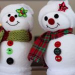 Boneco de Neve para o Natal – Passo a Passo!
