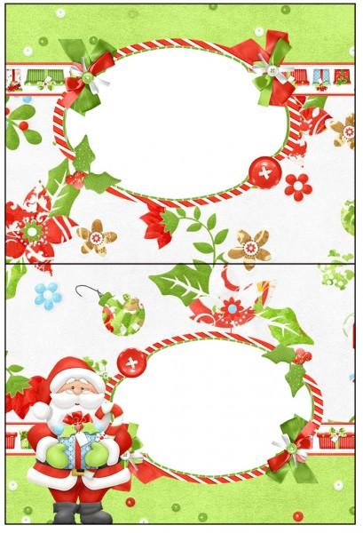 Cartão Agradecimento Natal