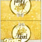 Cartão Agradecimento de Mesa Ano Novo 2015