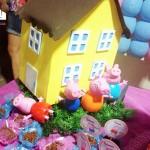Casinha Festa Infantil Peppa Pig