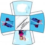 Chachepô de Mesa Frozen Azul