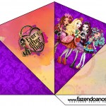 Cone Guloseimas 4 lados Ever After High