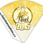 Cone Guloseimas Ano Novo 2015