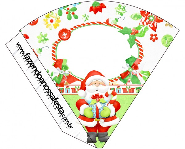 Cone Guloseimas Natal
