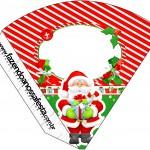 Cone Guloseimas Natal Vermelho e Verde
