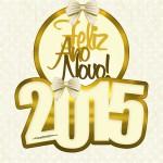 Convite Ano Novo 2015.