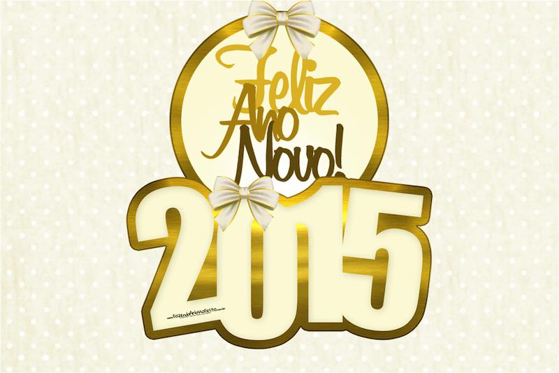 Convite Ano Novo 2015