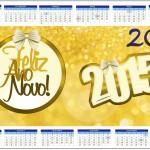 Convite Calendário 2014 Ano Novo 2015