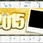 Convite Calendário com Foto Ano Novo 2015