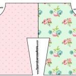 Convite Camisa Floral Verde e Rosa