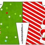 Convite Camisa Natal Vermelho e Verde