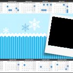 Convite, Cardápio ou Cronograma 2015 Frozen Azul