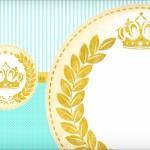 Convite Coroa de Príncipe Verde