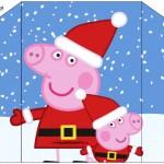 Convite Envelope Peppa Pig Natal