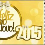 Convite Ingresso Ano Novo 2015.