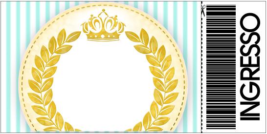 Convite Ingresso Coroa de Príncipe Verde