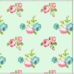 Convite Ingresso Floral Verde e Rosa