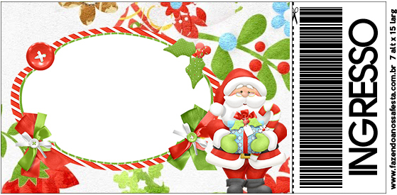 Convite Ingresso Natal