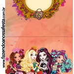 Convite Pirulito Ever After High