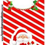 Convite Pirulito Natal Vermelho e Verde