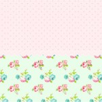 Floral Verde e Rosa – Kit Festa infantil!