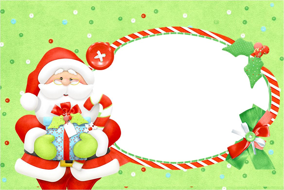 Convitemoldura E Cartão Natal Fazendo A Nossa Festa
