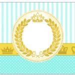 Copinho de Brigadeiro Coroa de Príncipe Verde