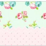 Copinho de Brigadeiro Floral Verde e Rosa