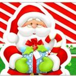 Copinho de Brigadeiro Natal Vermelho e Verde