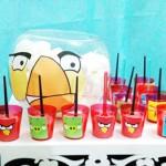 Copinhos de Doces Angry Birds