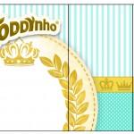 Rótulo Toddynho Coroa de Príncipe Verde