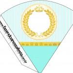 Cone Guloseimas Coroa de Príncipe Verde