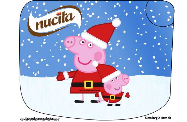 Creminho Nucita Peppa Pig Natal