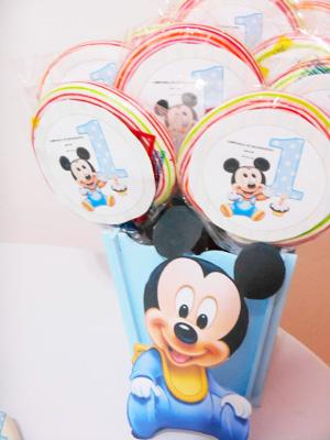 Pirulitos Mickey Baby