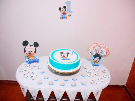 Mesa de Doces Mickey Baby