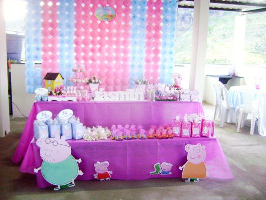 Decoração Festa Infantil Peppa Pig
